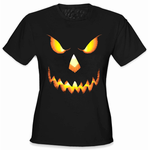 Mean Pumpkin Head Women's T-Shirt