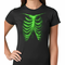 Glow In The Dark Ribcage Women's T-shirt