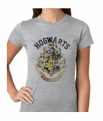 Official Hogwarts School Crest Women's T-shirt