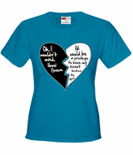 Oh I Wouldn't Mind.....Hazel Grace - Quote From Fault in Our Stars Women's T-Shirt