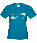 """Okay? Okay."" John Green Quote The Fault in Our Stars Infinity Symbol Women's T-Shirt"