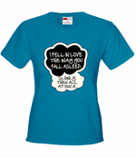 """I Fell In Love"" John Green Quote from The Fault in Our Stars Women's T-Shirt"