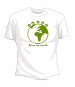 Peas On The Earth Women's T-Shirt