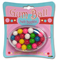 Gumballs on the Go Gum Ball Machine Belt Buckle With FREE Leather Belt