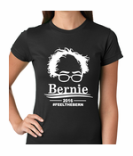 Bernie Sanders Face - Feel the Bern Women's T-shirt