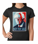 Bernie Sanders Not For Sale Women's T-shirt