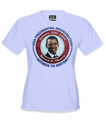 "Obama ""Witness History"" Women's T-Shirt"