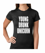 Young Drunk Unicorn Women's T-Shirt