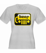 Beer-Jeep Parody Funny Women's T-Shirt