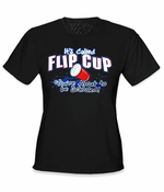 Flip Cup - You're About to Be Schooled Girls T-Shirt