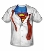 Official Superman Ripped Costume Men's T-Shirt
