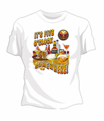 It's Five O'Clock Somewhere Girls T-Shirt