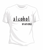 Alcohol Anti-Drug T-Shirt