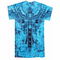 Konflic Big Cross Eagle All Over Print Men's T-Shirt (Blue)