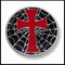 Holy Cross Web Belt Buckle With FREE Leather Belt