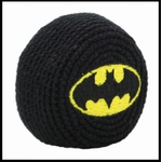 Official Batman Hacky Sack (Black/Yellow)
