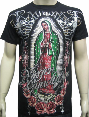 Konflic Vision of Guadalupe T-Shirt (Black)