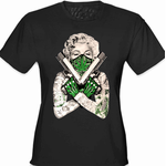 "Marijuana Monroe ""Gangster"" Women's T-Shirt"