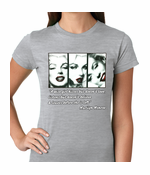 Wise Girl Marilyn Quote Women's T-shirt