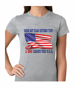 Does My Flag Offend You? Women's T-shirt