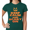 Keep Calm and Scary Halloween Women's T-shirt