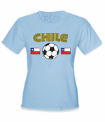 Chile World Cup Soccer Women's T-Shirt