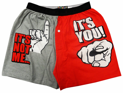It's Not Me... It's You! Boxer Shorts