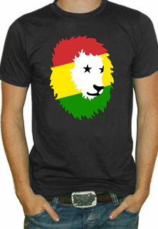 Soul Rebel African Lion T-Shirt (Black)