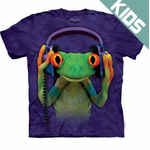 Kid's Frog Big Face T-Shirt