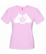 Cartoon Hands Diamond T-Shirt