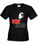 Stay Faded Cartoon Hands Women's T-Shirt