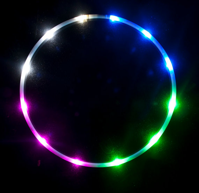 Led Hoop - Light Up Rave and Dance Hoop with 36 Led Lights