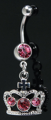 Kings Crown Belly Ring (Assorted)