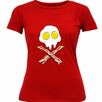 Bacon & Eggs Skull Women's T-Shirt