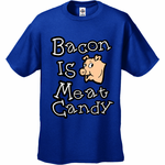 Bacon Is Meat Candy Men's T-Shirt