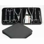 8pc Professional Piercing Tool Kit with Case