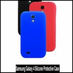 Galaxy 4 Silicone Case (Asst. Colors)