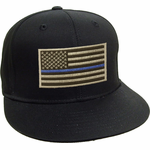 Blue Lives Matter Thin Blue Line Snap Back Hat