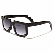"Cool Retro ""Pixel"" Square Sunglasses"