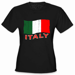 Italy Vintage Flag Women's T-Shirt