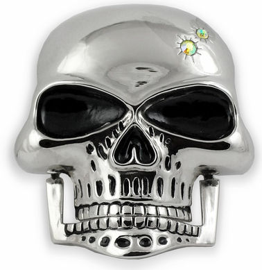 Hinge Jaw Skull Buckle With FREE Leather Belt