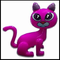 16 Inch Inflatable Kitty Cat in Assorted Colors