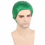 Cosplay Wigs (Green Slicked Back)