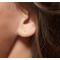 Magnetic Neon Green Black Light Studs Pair