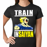 Train Like Insaiyan Women's T-shirt