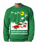 Grandma Got Run Over By A Reindeer Crewneck