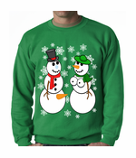 Mr. & Mrs. Perverted Snowman Ugly Crewneck