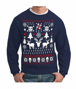 Ugly Christmas Sweater - 8 Bit Reindeer