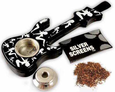 Novelty Guitar Pipe With Screens