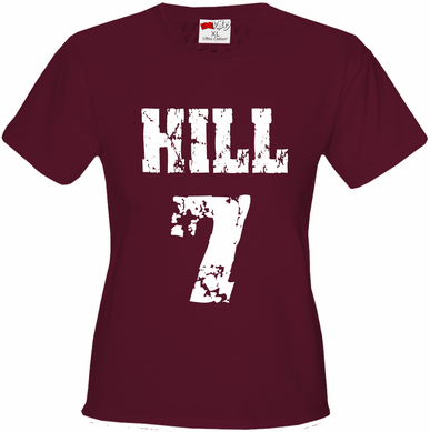 Hill #7 in Texas A&M Colors Women's T-Shirt